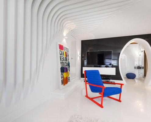 Проект квартиры в городе Светлогорск, 2012